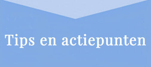 Tips en actiepunten januari 2018