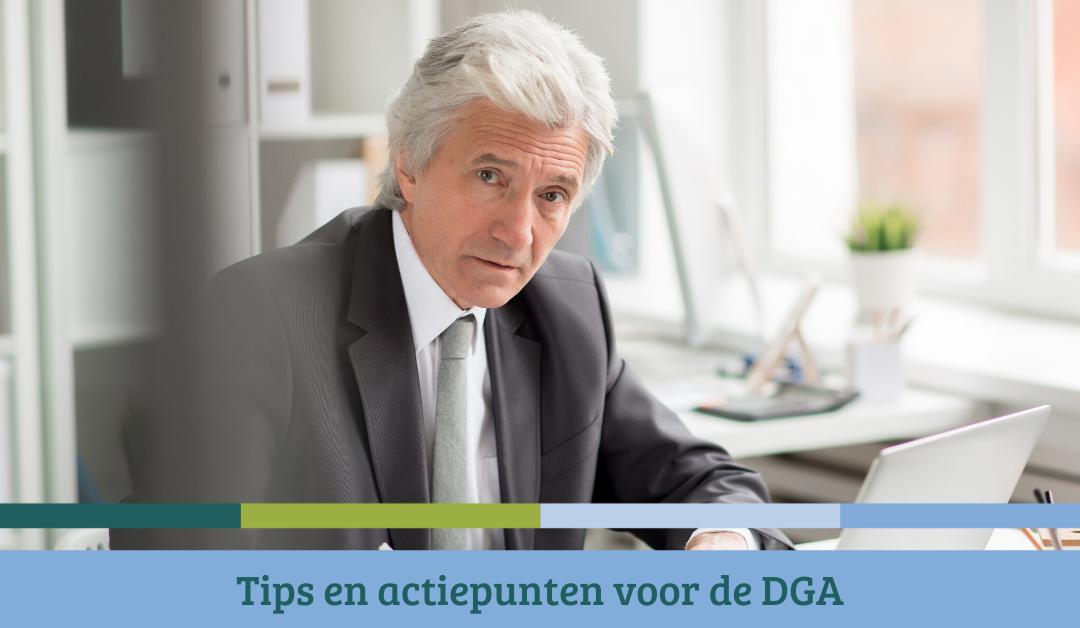 Tips en actiepunten voor de DGA – eind 2020